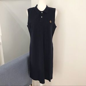 Lauren Ralph Lauren Sleeveless Navy Dress